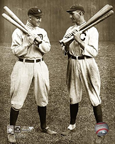 Ty Cobb and Shoeless Joe Jackson, 1913 Poster Print by McMahan Photo Archive (8 x 10)