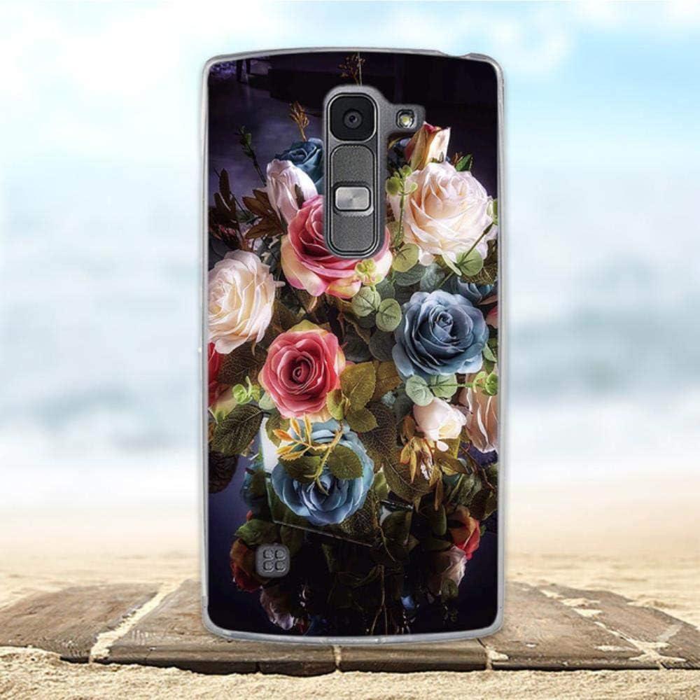 for LG Spirit Case 4G LTE H440Y H422 H440N H420 Cover Cute Animal Pattern Funda Coque for LG Spirit Phone Case Soft Silicone Bag,3