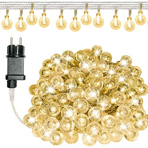 ANKOUJA Led-lichtsnoer voor binnen en buiten, decoratie voor woonkamer, slaapkamer, kerstdecoratie, bruiloft, Kerstmis…