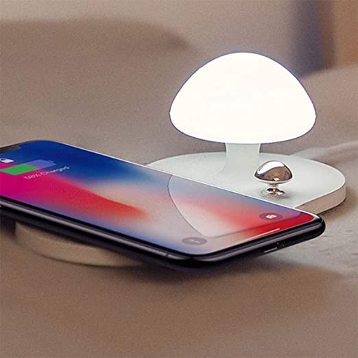 YRL Luz de Noche LED, Interruptor de botón Cargador ...