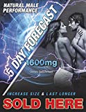 5 Day Forecast Fast Acting Male 1,600mg Box of 25 capsules