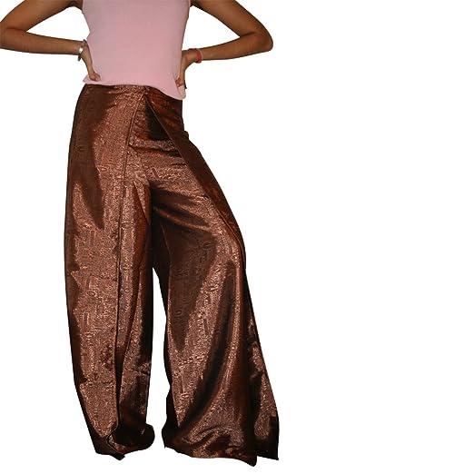 692c7bfaedd Thai Fisherman Pants Yoga Free Size For Woman Long Plus Size Silk Long Yoga  Pant