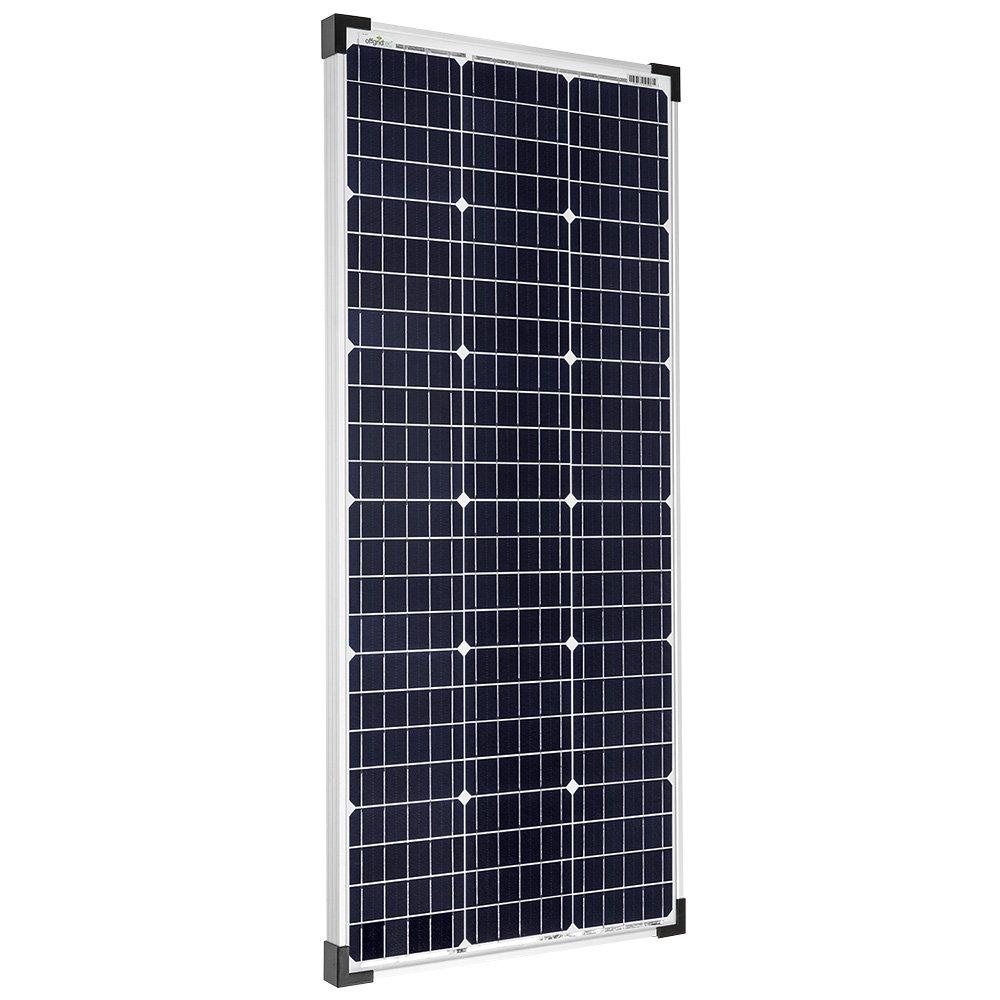 Offgridtec - Módulo solar monocristalino (100 W, 36 V, ideal para carga de batería de 12 V y 24 V): Amazon.es: Industria, empresas y ciencia