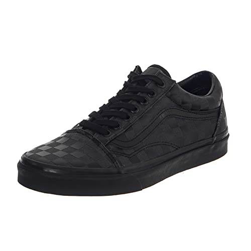 a9f3bda0bf1668 Vans - Trainers - UA Old Skool (High Density) Black Checkerboard (6.5