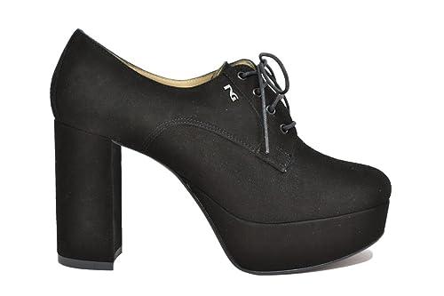 NERO GIARDINI Francesine nero 9760 scarpe donna elegante mod. A719760DE