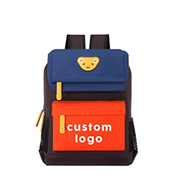 f42a9d2afb Amazon.com  Willikiva Peronalized Custom Logo Children School Student  Backpack-50 Quantity