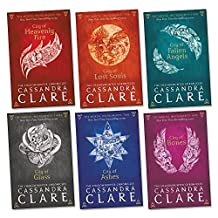 Mortal Instruments Pack , 6 books, (City of Bones; City of Ashes; City of Glass; City of Fallen Angels; City of Lost Souls; City of Heavenly Fire).