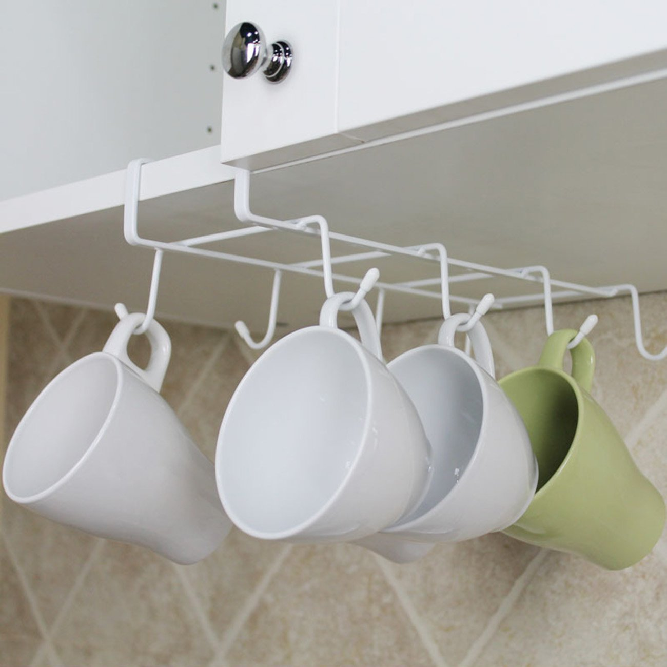THEE Coffee Cup Wine Cup Hanger Hanging Hooks for Kitchen Tool