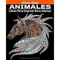 animales mandala: animales Libro para colorear para adultos: