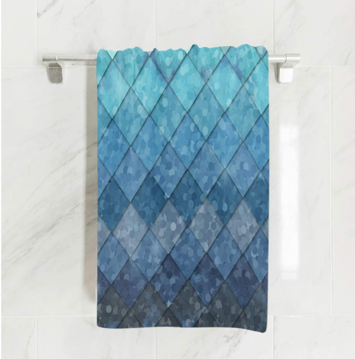 Extra-Absorbent Soft Beach Towels American Flag Luxury Microfiber Spa/&Hotel Bath Towels 31.5 x 51.2 inch