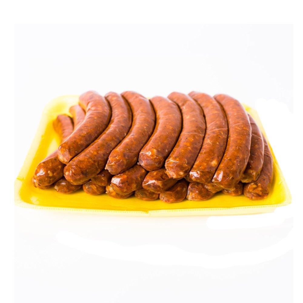 Chicken Merguez Sausages - Pork-Free - 24 Links - 3Lbs