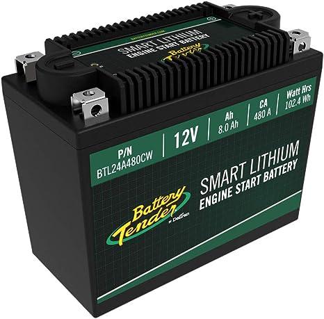 Amazon.com: Batería de litio Supersmart BMS, 12 V 8,0 AH ...