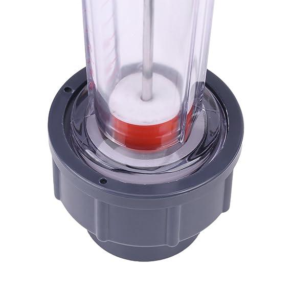 LZS de 25 flowmeter caudal Cuchillo 300 - 3000L/H Agua rotameter Tubo de plástico: Amazon.es: Bricolaje y herramientas