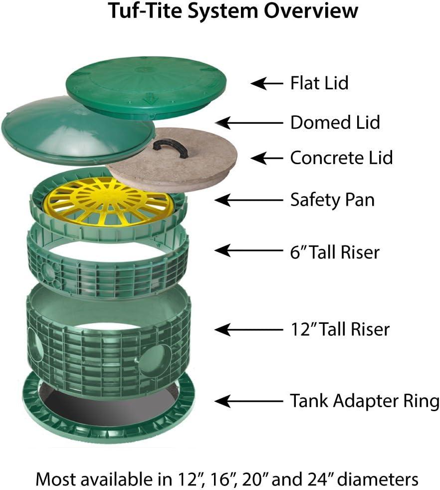"Tuf-Tite 24/"" TAR Adapter Ring"