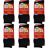 Thermal Socks For Men – 6 Pairs Insulated Heated Socks For Your Feet – Boot Socks For Extreme Temperatures By DEBRA WEITZNER