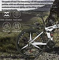 YUHT Bicicleta de montaña, Bicicleta Plegable de 26 Pulgadas Bicicletas de Acero al Carbono Doble Choque Bicicleta de Velocidad Variable para Adultos Aplicar a 160-185 cm de Altura: Amazon.es: Deportes y aire