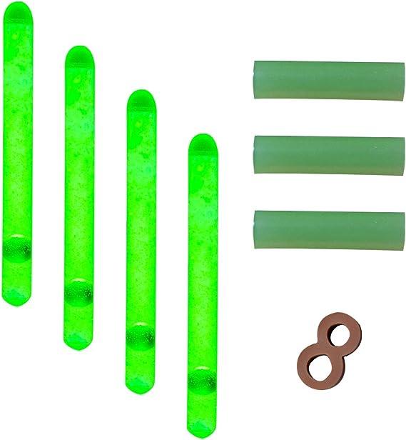 100 DEL Vert Bobber Light Rod Tip THILL Nite Brite Batterie De Remplacement
