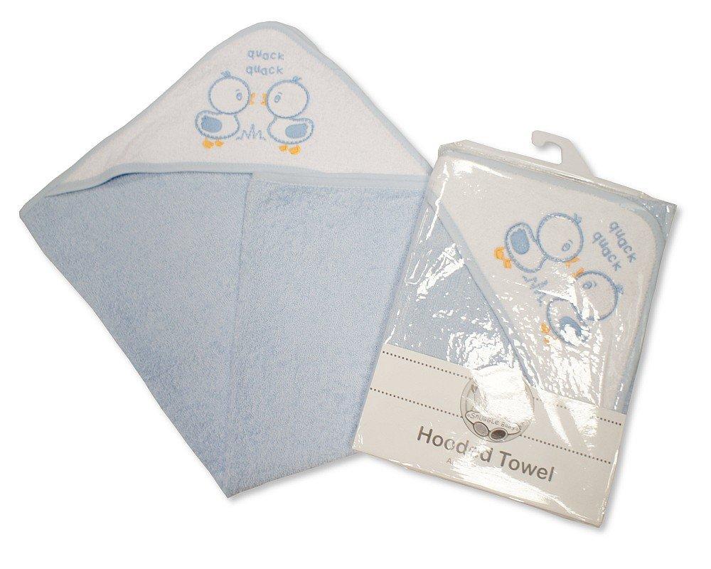 Prinz in Rosa und Blau erh/ältlich Snuggle Baby Kapuzen-Handtuch f/ür Babys Prinzessin Motive: Enten