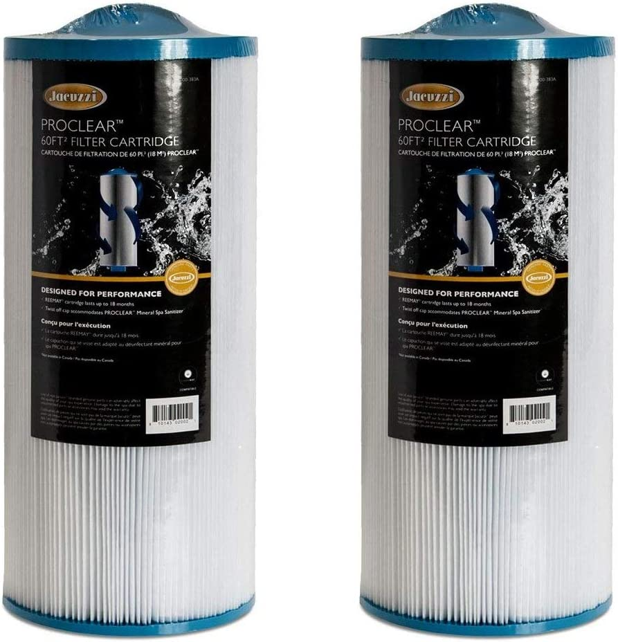 Jacuzzi 6000-383 Filter Cartridge – 2 Pack - Amazon's Choice