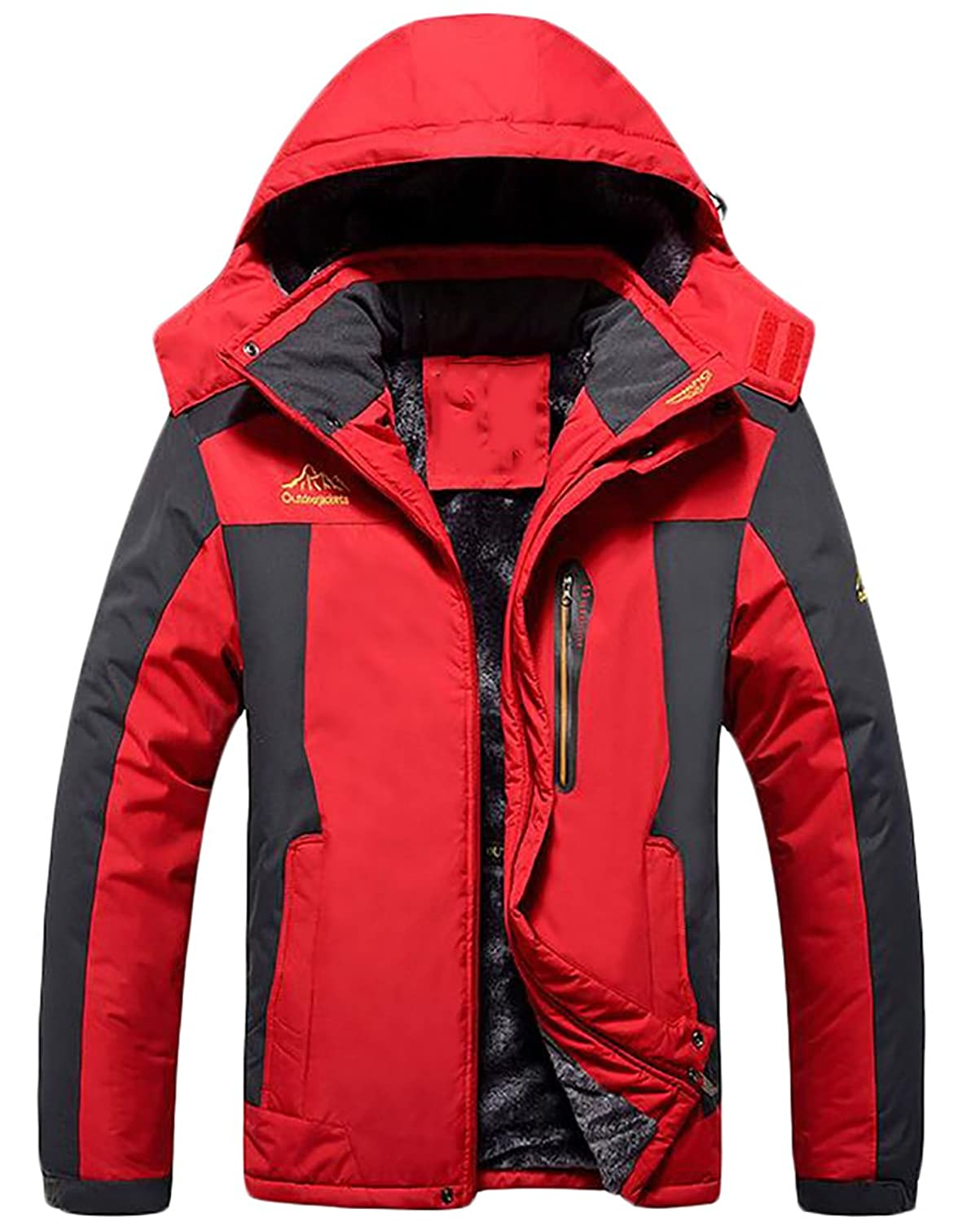 lovever OUTERWEAR メンズ B075F3TDJH  レッド US X-Large