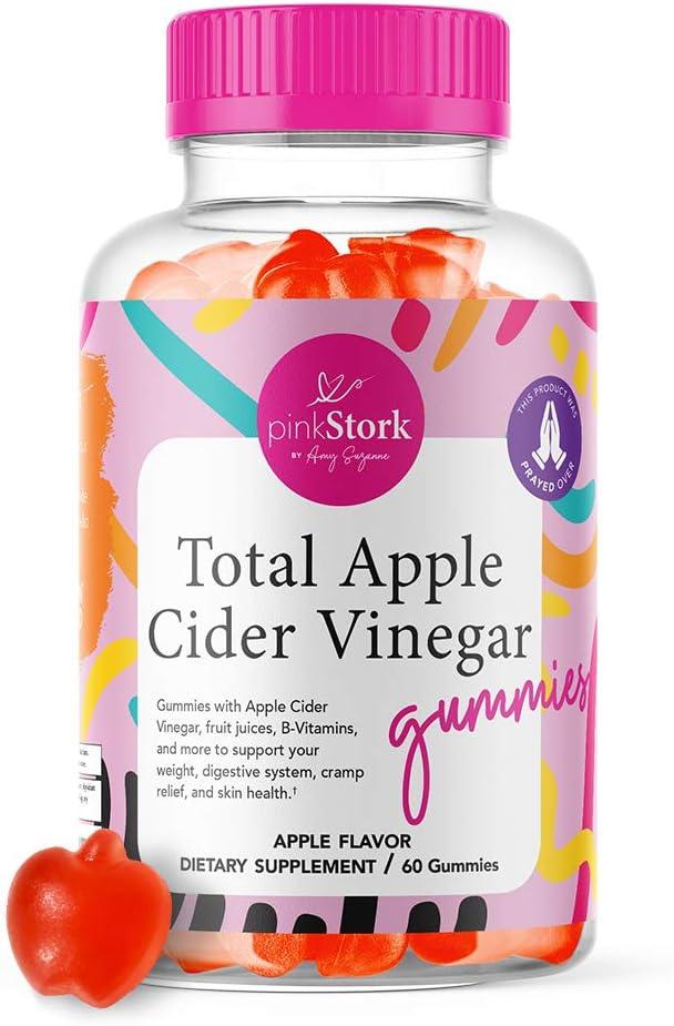 Pink Stork Total Apple Cider Vinegar Gummies