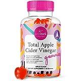 Pink Stork Total Apple Cider Vinegar Gummies: ACV Gummy Vitamins for Detox + Weight Loss, Nausea Relief, Immune Support, Vita