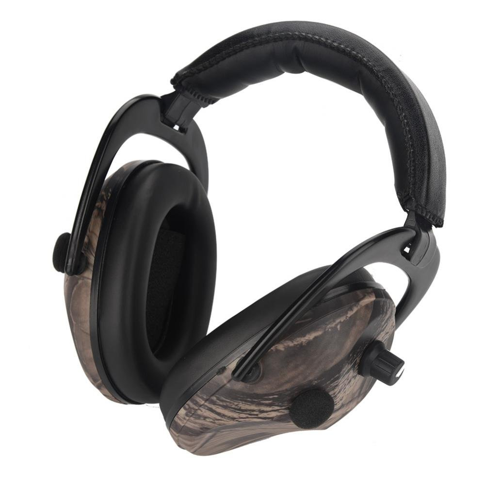 Vbestlife Electronic Hunting Earmuff,Tactic Ear Protection Earmuffs Headphones Headset for Outdoor Hunting Shooting Ear Protection
