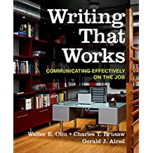 Amazon technical writing books writing that works communicating effectively on the job fandeluxe Image collections