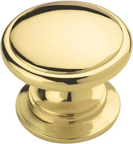 10 Amerock Polished Brass Knobs BP53012-3
