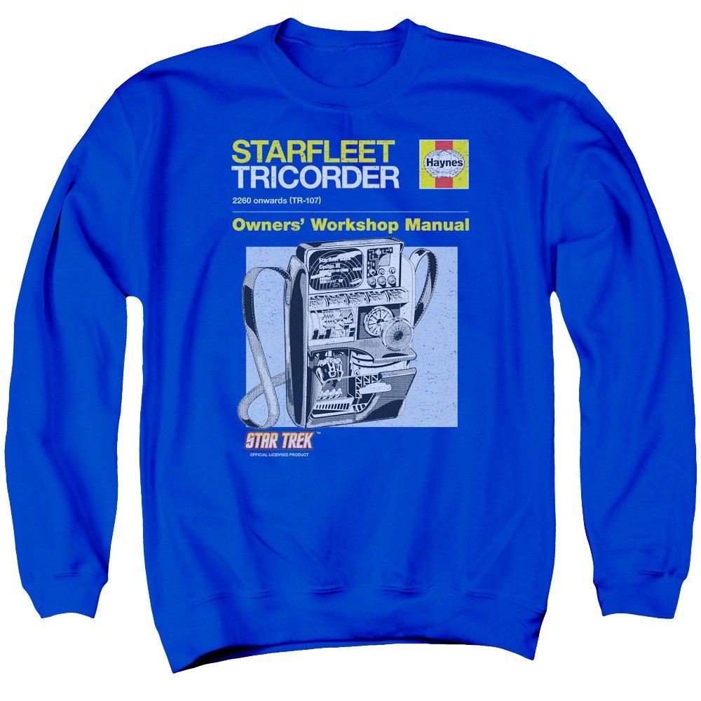 Star Trek Herren Sweatshirt Opaque Blau blau