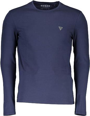 GUESS M81I30 J1300 Core Tee LS Camiseta Hombre Blue Navy XXL: Amazon.es: Ropa y accesorios