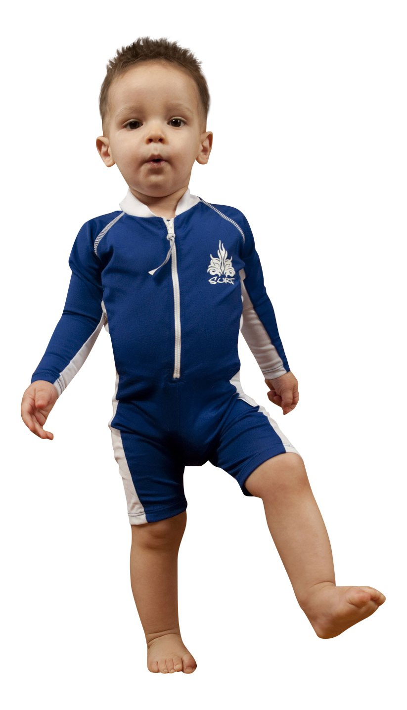 Sun Protective UV Swimsuit - Long Sleeves - SPF Protection - Infant & Toddler Boys Sun Emporium