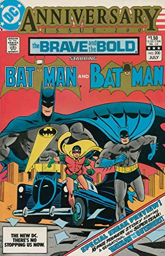 Brave and the Bold, The #200 VF/NM ; DC comic book