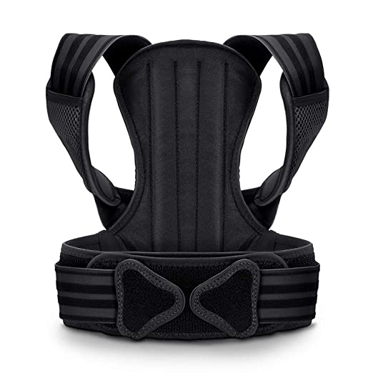 VOKKA Posture Corrector for Men and Women, Spine and Back Support, Providing Pain Relief for Neck, Back, Shoulders, Adjustable and Breathable Back Brace Improves Posture and Provides Back Support L best men's posture corrector