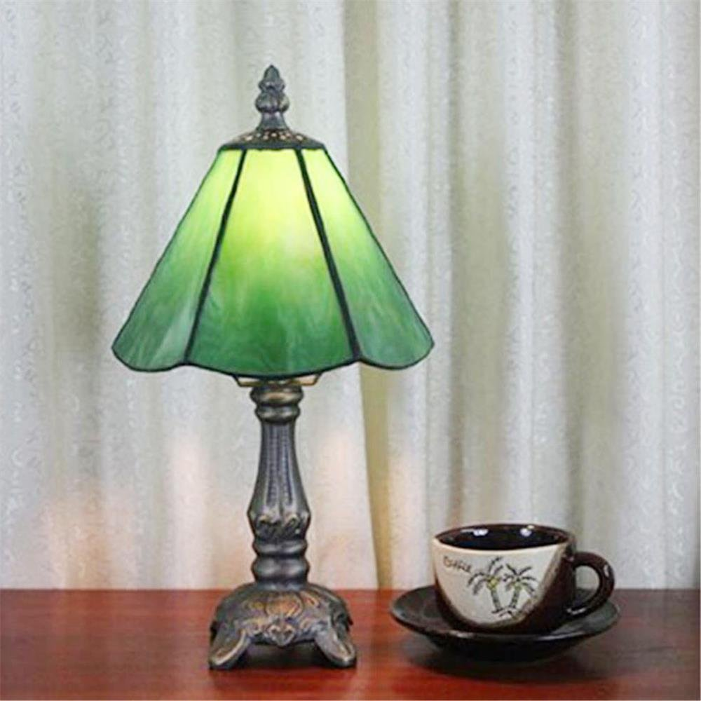6-Inch Green Small Table Lamp Bedside Lamp Children's Lamp