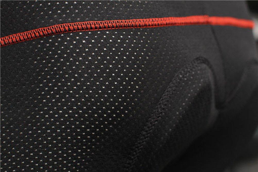 BADI NA Mens 3D Padded Sponge Coolmax Bicycle Cycling Underwear Shorts Black 4XL by BADI NA (Image #6)