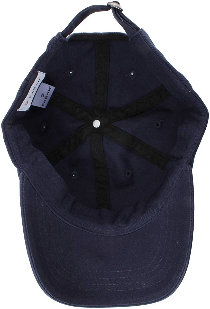 Navy Thorney Twill Baseball Cap by Farah  Amazon.ca  Clothing   Accessories 356cecc983f