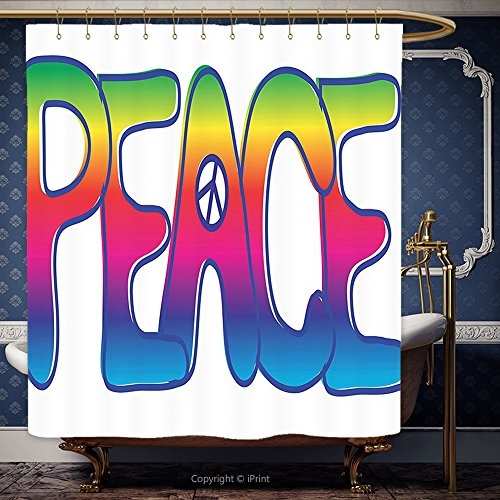 Outdoor Lighted Peace Symbol - 3