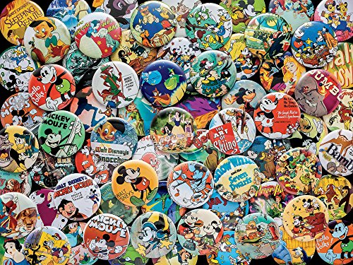 Ceaco Disney Collections Vintage Buttons Puzzle (750 Piece)