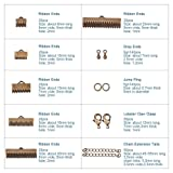 PH PandaHall About 500Pcs Jewelry Finding Sets with