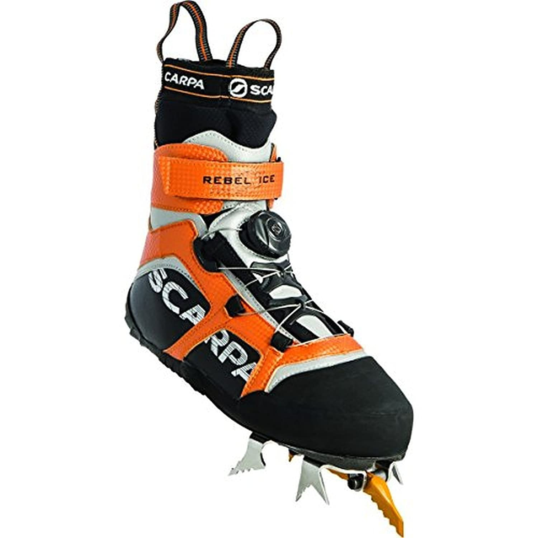 Scarpa Rebel Ice Boots & Etip Lite Gripper Glove Bundle