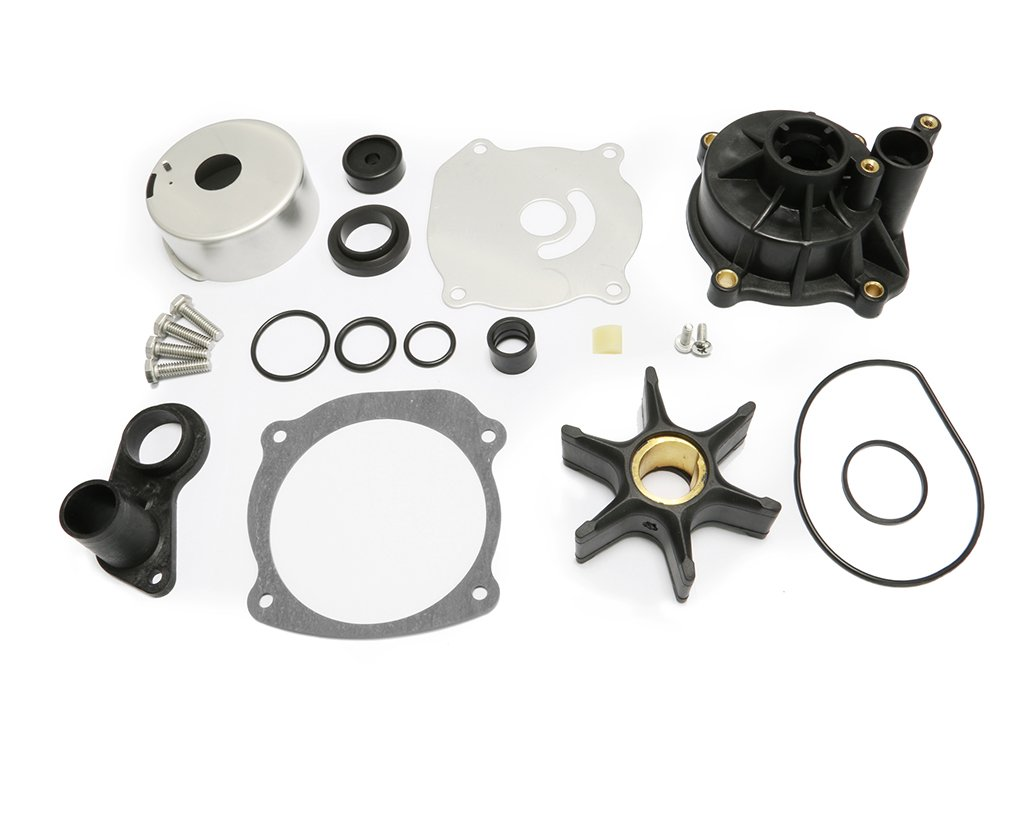Full Power Plus Water Pump Repair Kit Replacement With 110 Evinrude Looper Wiring Diagram Housing For Johnson V4 V6 V8 85 300hp Outboard Motor Parts 5001594 Sports