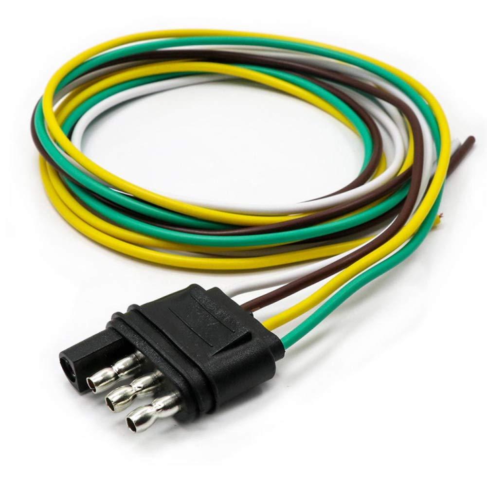 Fabulous Trailer Wire Extension Wishbone Style Trailer Wiring Harness Wiring 101 Relewellnesstrialsorg