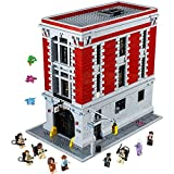 lego ghost house - LEGO Ghostbusters 75827 Firehouse Headquarters Building Kit (4634 Piece)