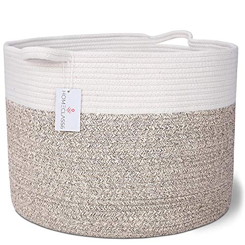 XXL Woven Cotton Rope Basket 20