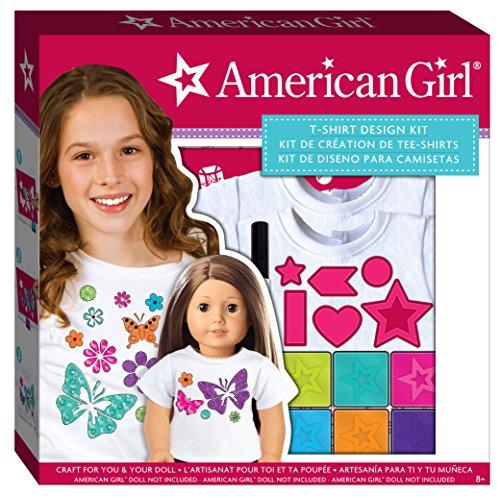 American Girl Stamping T-Shirt Design - Craft Shirt
