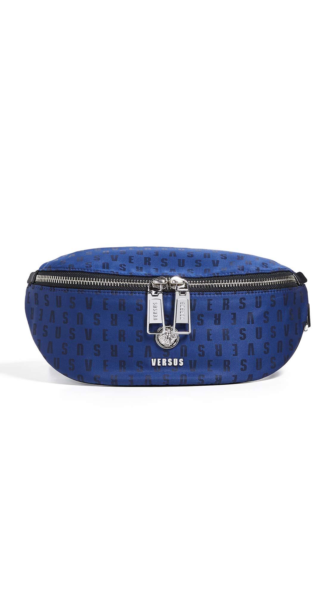 Versus Versace Men's Fanny Pack, Blue/Black, One Size