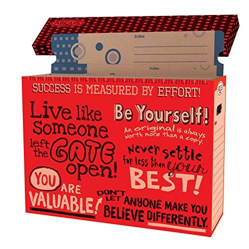TREND enterprises, Inc. Poster Storage Box File 'n Save System - ARGUS by Trend Enterprises Inc
