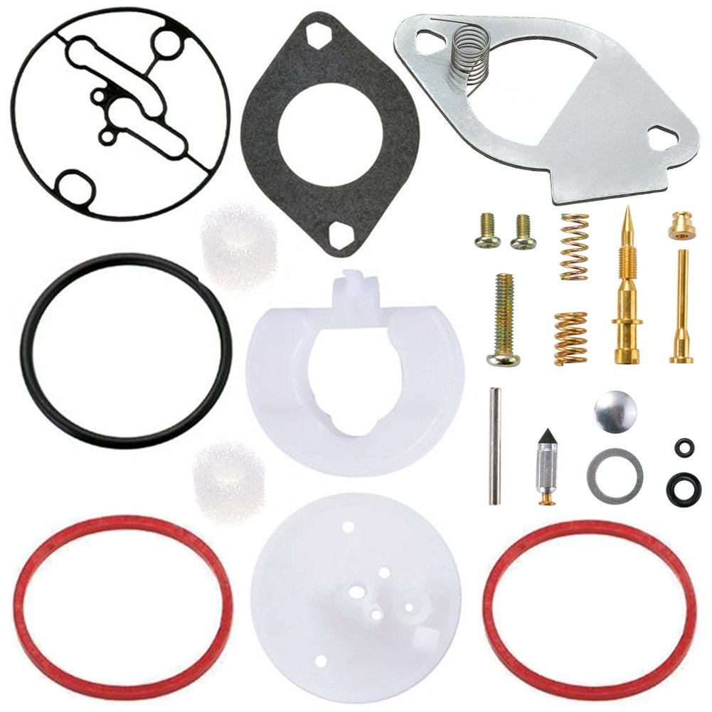 Qazaky carburatore ricostruire kit per Briggs /& Stratton Master Overhaul Nikki Carbs 796184/698787/699900/699521/792369/790032/artigiano/ /11HP 19HP motore carburatore