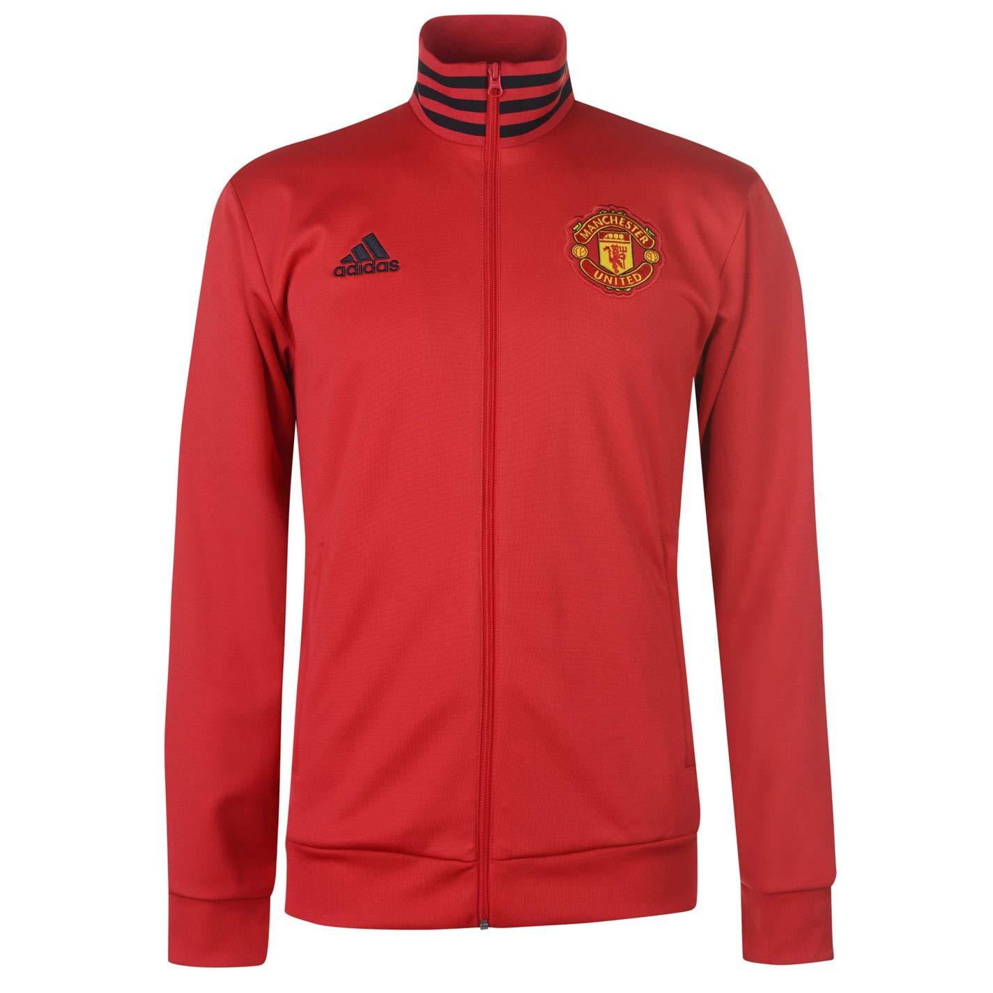ADIDAS Herren Manchester United 3s Track Top Trainingsjacke